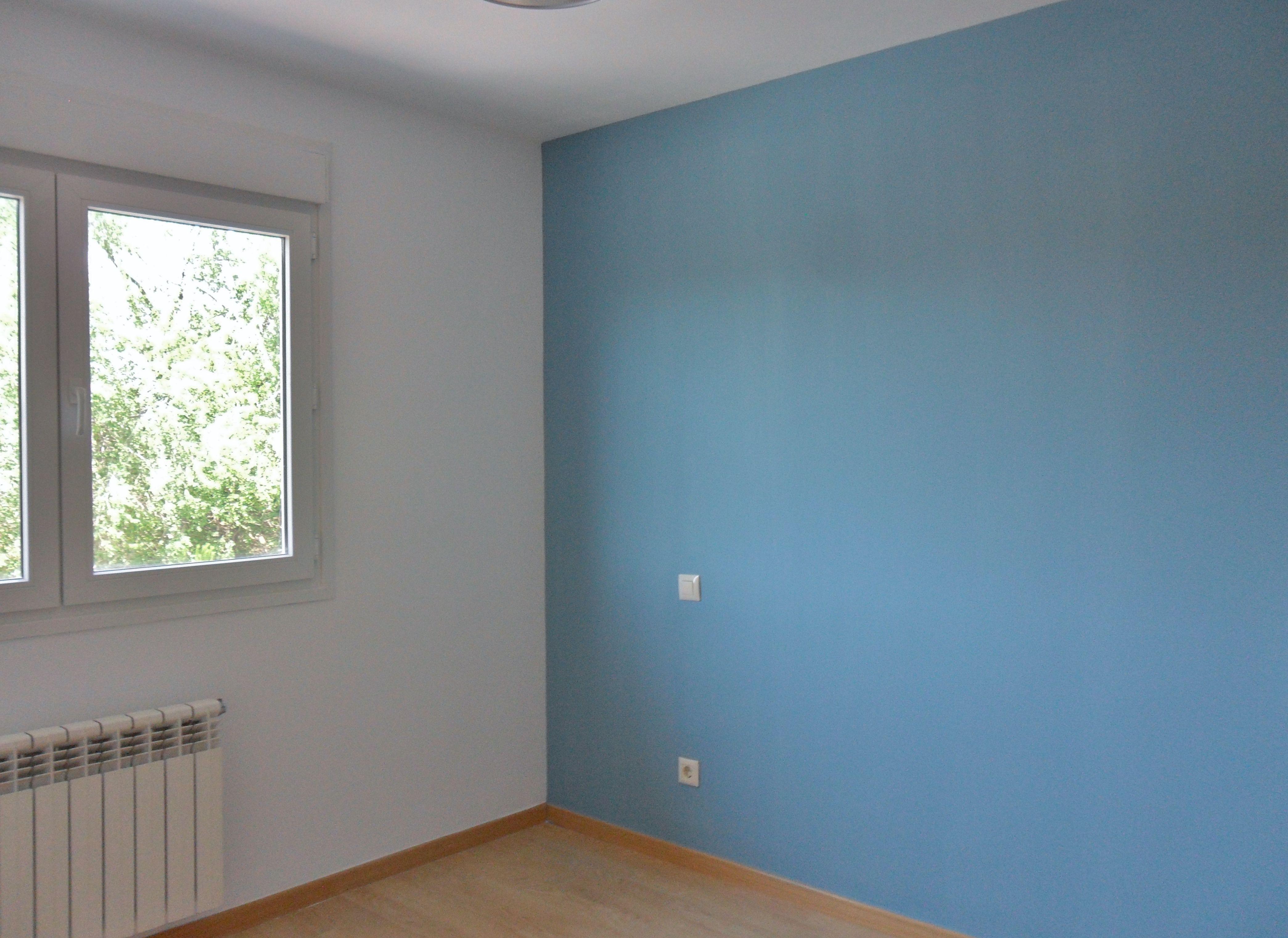 Decoraci N Paredes Pintura Dos Colores Decoracion Paredes  ~ Pintura Decorativa Paredes Interiores