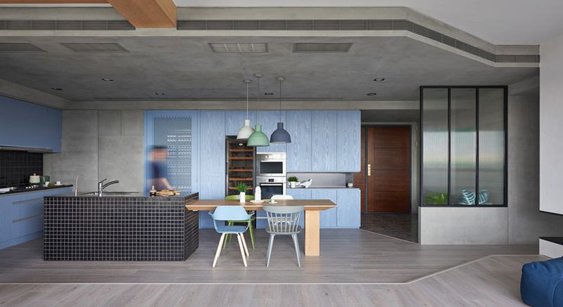 Apartment in Taiwan by HAO Design | #hometour #interiordesign