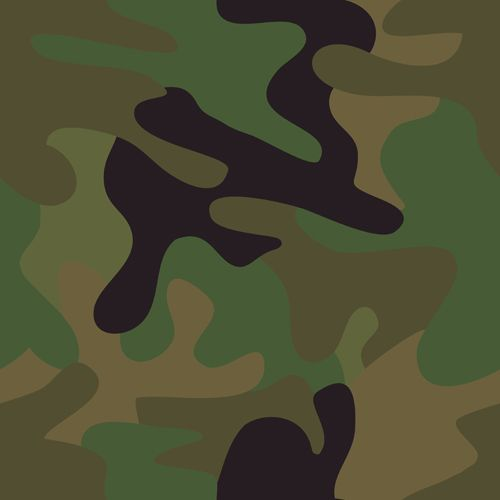 Different Camouflage Pattern Design Vector Set 04 Vector Pattern