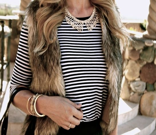 All About That Fur Vest   Her Campus  As the Georgia weather tries its best to stay below 70 degrees this fall and winter, a huge trend has been surfacing in the south. The fur vest is becoming a big hit this season, and we are loving every minute of it! With a little bit of fur, there are many ways to dress up an outfit or keep it casual. Here are some of the best ways to stay warm and trendy by simply adding a fur vest to your look.