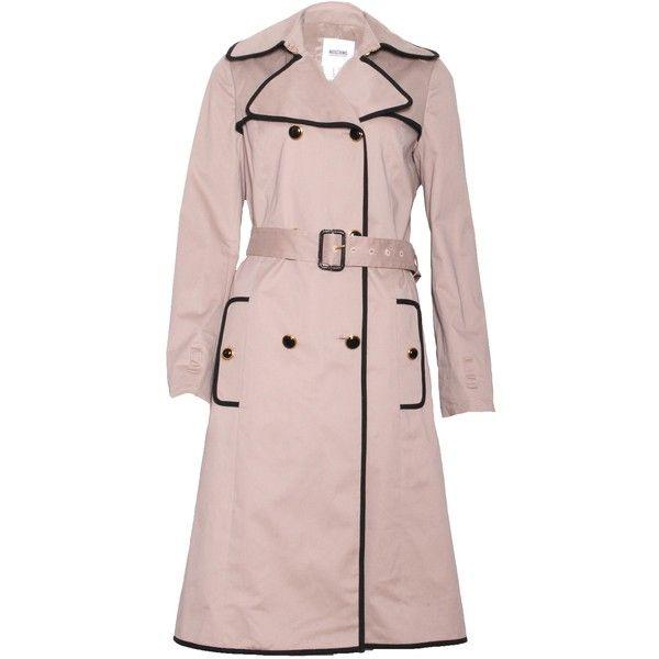 Pre-owned Moschino Cheap & Chic Mac Rain Coat (2.590 ARS) ❤ liked ...