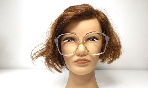 034392b035 vintage 60s 70s silver pearl plastic frames by RecycleBuyVintage ...