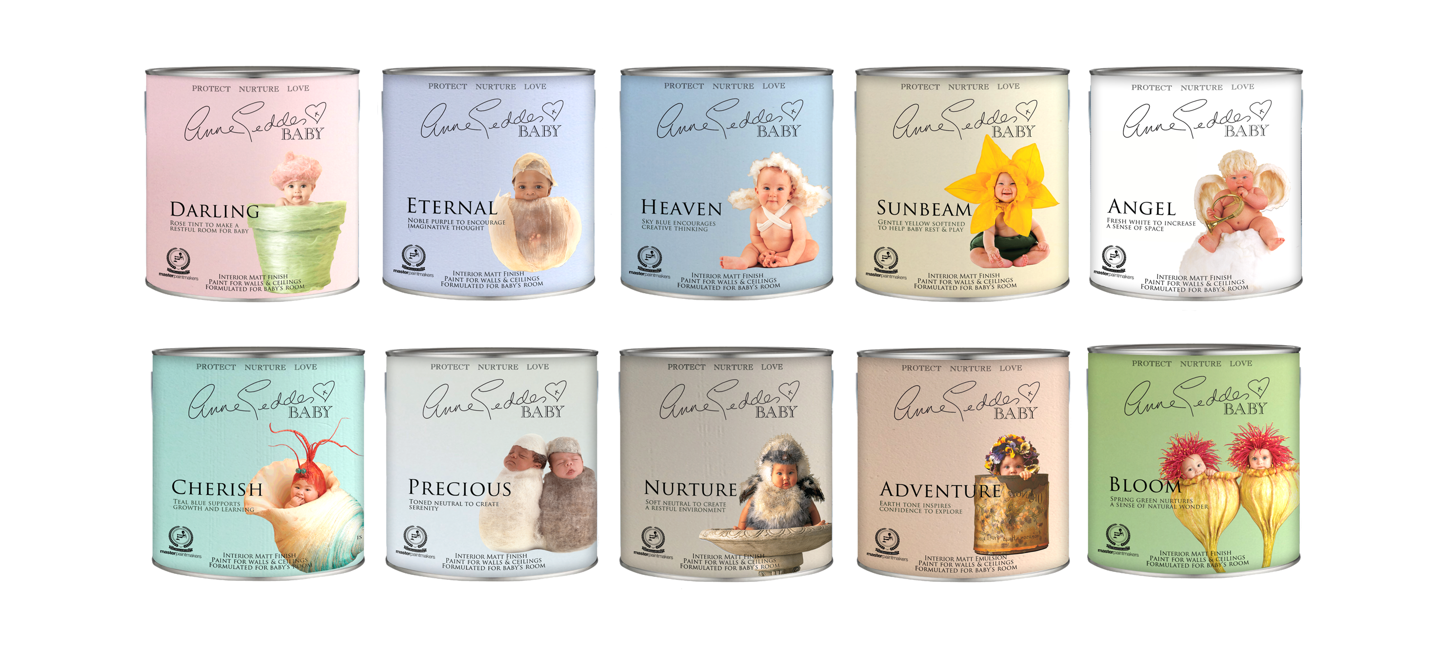 Anne Geddes Baby Safe Paint For The Home It S Non Toxic Lead Free And Odorless Baby Safe Paint Nursery Design Project Nursery