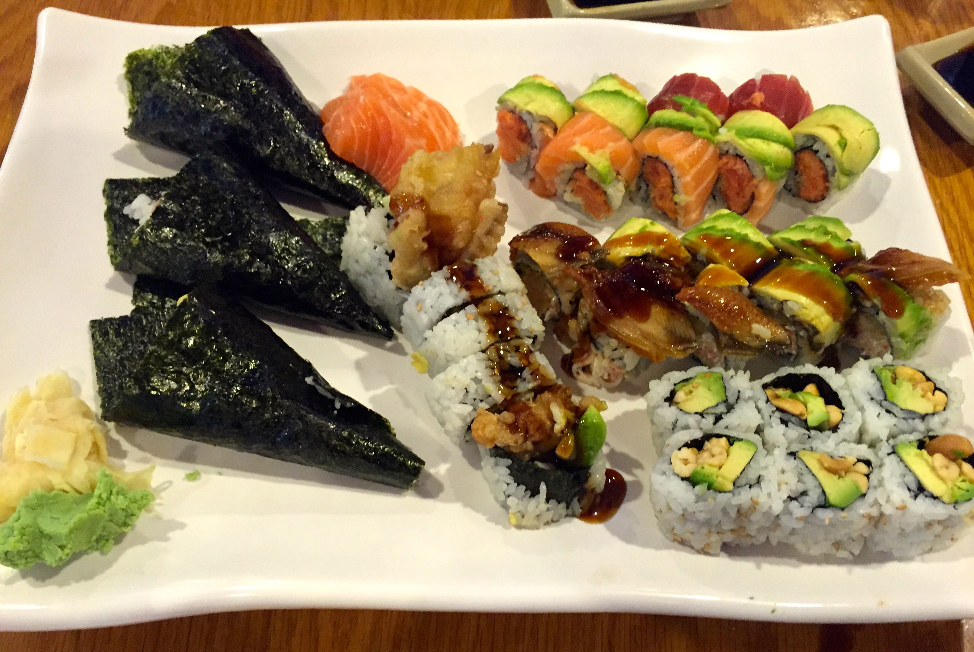 """Delicious Lunch at Sushi Palace, Centereach, NY. """"All You"""