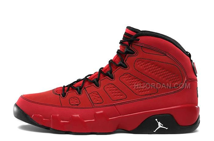 "b256ec658afe Air Jordan 9 Retro ""Motorboat Jones"" Challenge Red White-Black in ..."