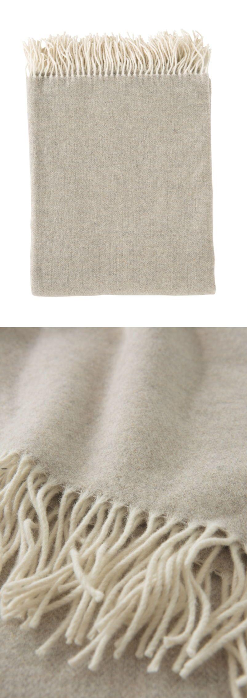 Wolldecke Beige Grau Wolldecke Deckchen Und Tagesdecke
