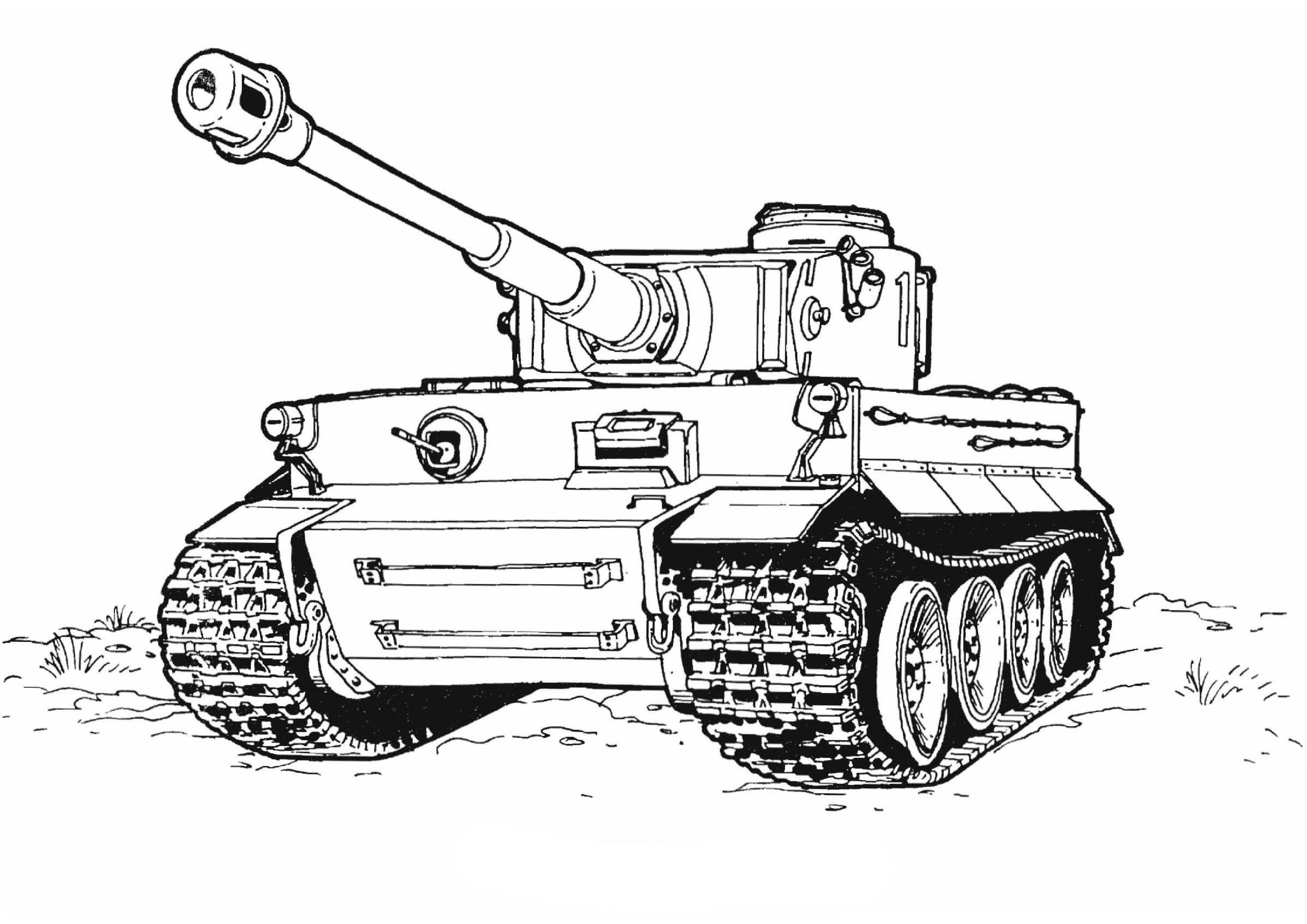 ausmalbilder panzer leopard  kinder ausmalbilder