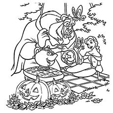 Kids Love Halloween As They Get To Dress Up Their Favorite Characters Engage Your Children With These 10 Free Printable Disney Coloring Pages