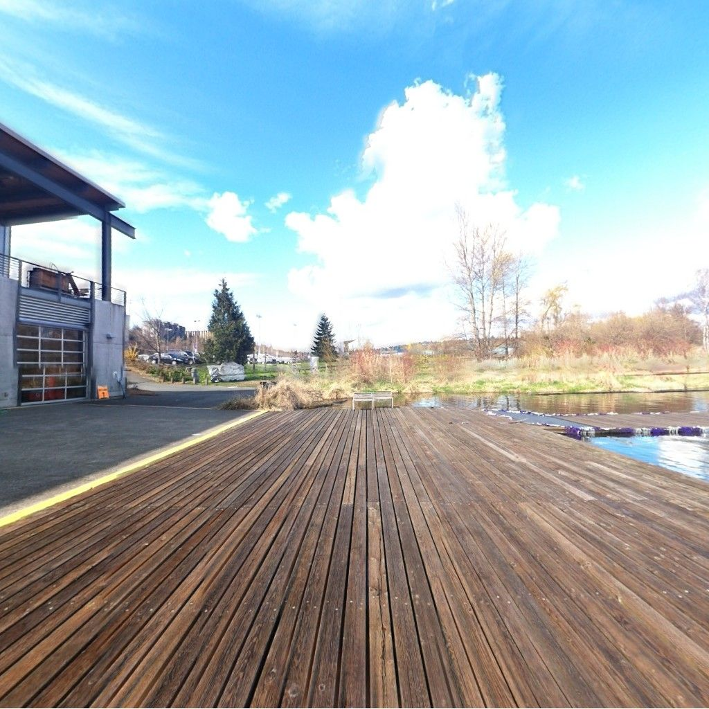 360 view from Conibear Shellhouse Dock!