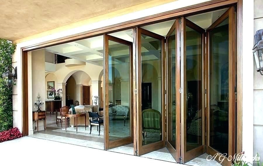 Image Result For Collapsible Sliding Gl Doors