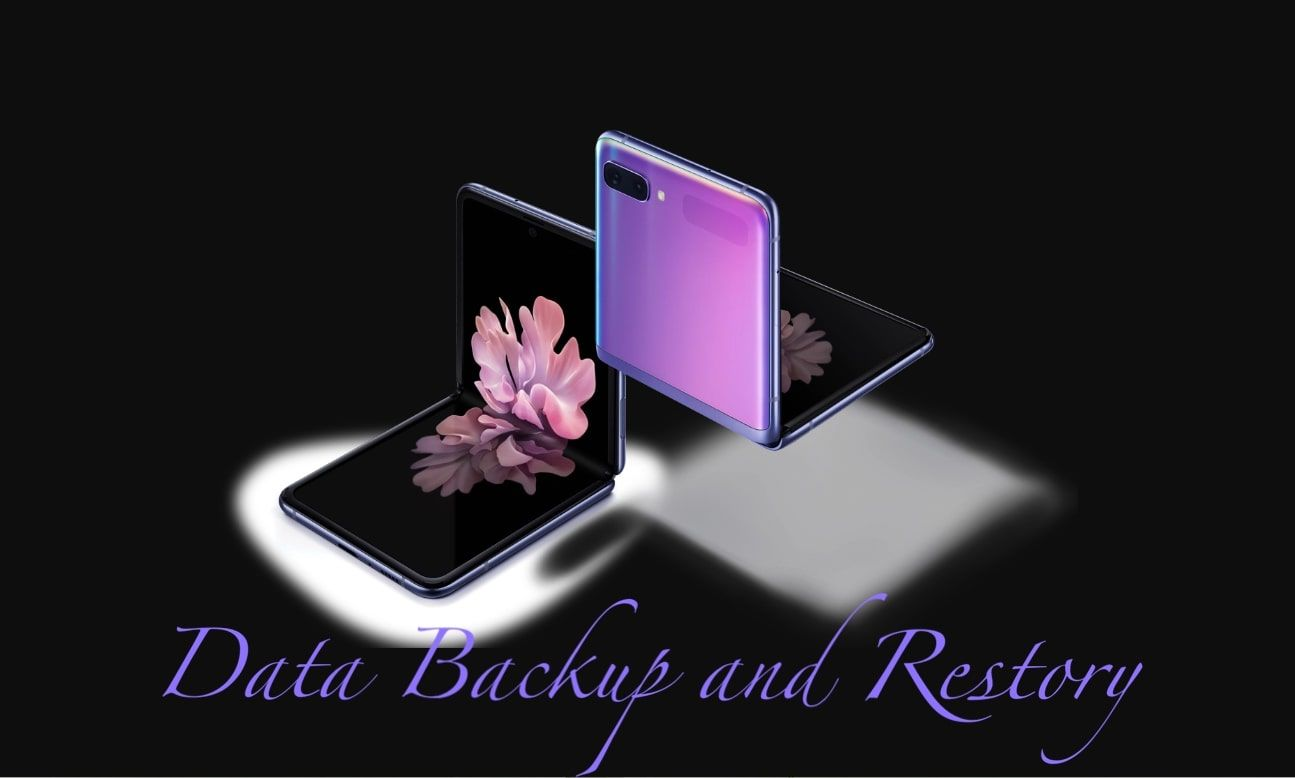 How to backup and restore samsung galaxy z flip in 2020