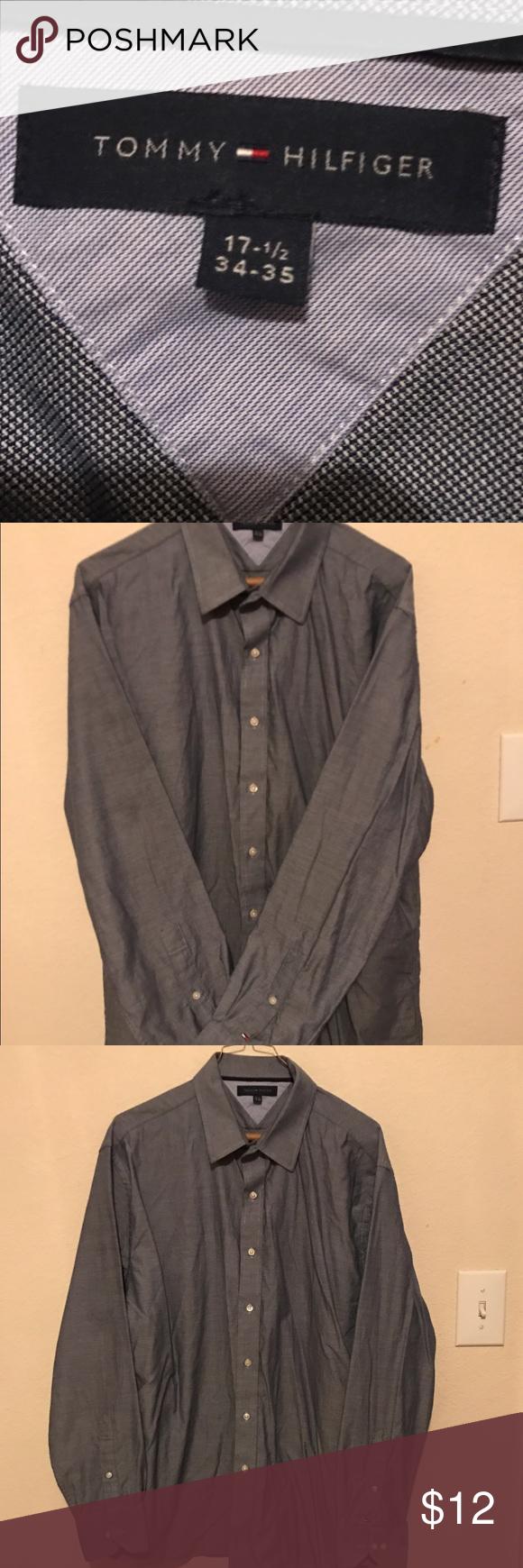 👔Tommy Hilfiger👔 Men's shirt. Excellent condition just wrinkled. Tommy Hilfiger Shirts Dress Shirts