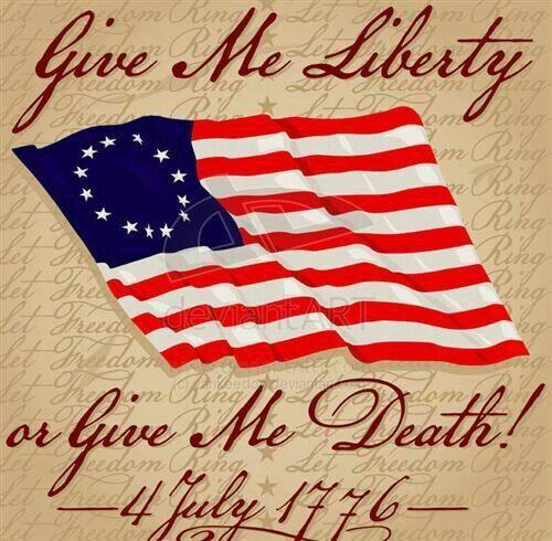 who said give me liberty give me death