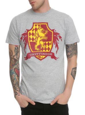 Harry Potter Gryffindor Crest Slim-Fit T-Shirt