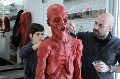 Guillermo Del Toro Shows Off Practical Crimson Peak Ghosts