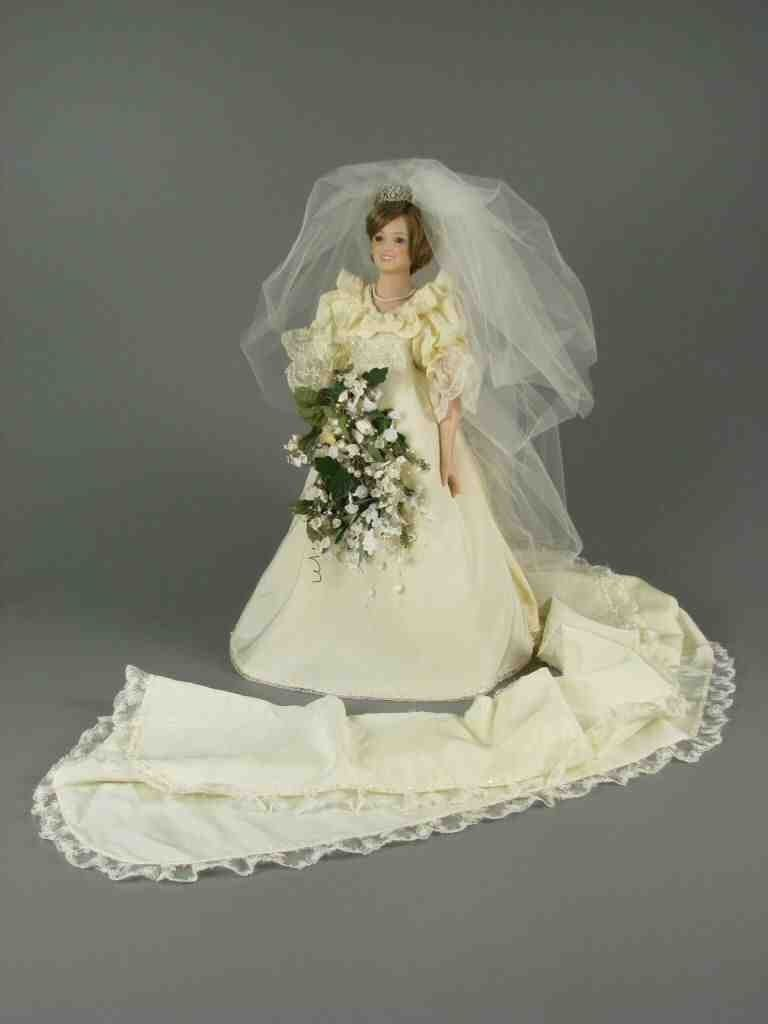Princess Diana Doll In Wedding Dress   Princess Wedding Dresses ...