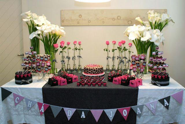 Arte 1010: Chá de Lingerie - Pink e Preto