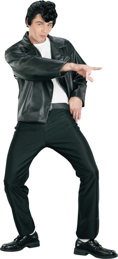 T-bird Gang Jacket Adult Costume Standard Straight out of the past comes this great retro 50s look. | Costumes.com.au  sc 1 st  Pinterest & T-bird Gang Jacket Adult Costume Standard Straight out of the past ...