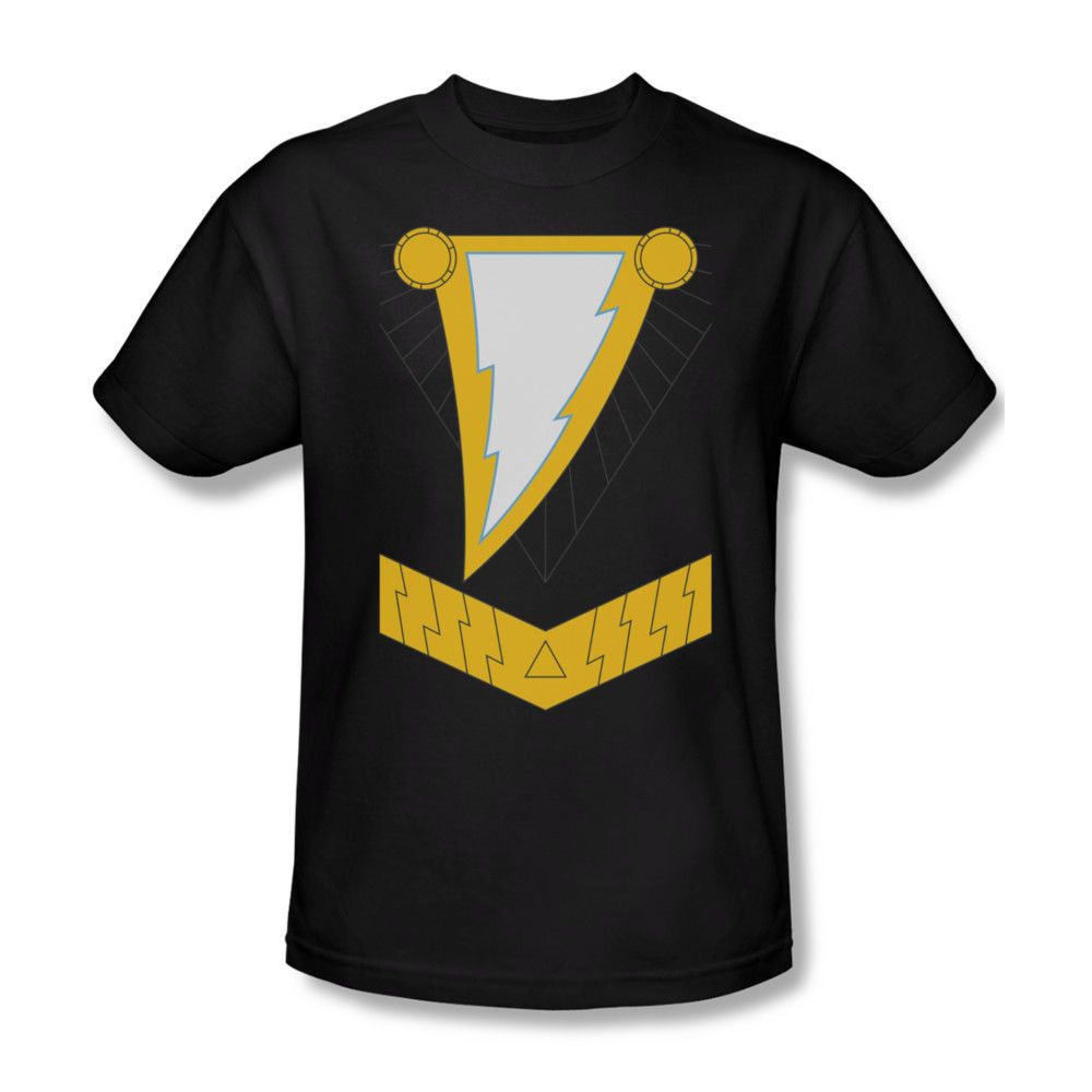 2096f2a39 Black Adam Shazam Costume Logo DC Comics Youth Ladies Jr Women Men T-shirt  Top #Trevco #GraphicTee