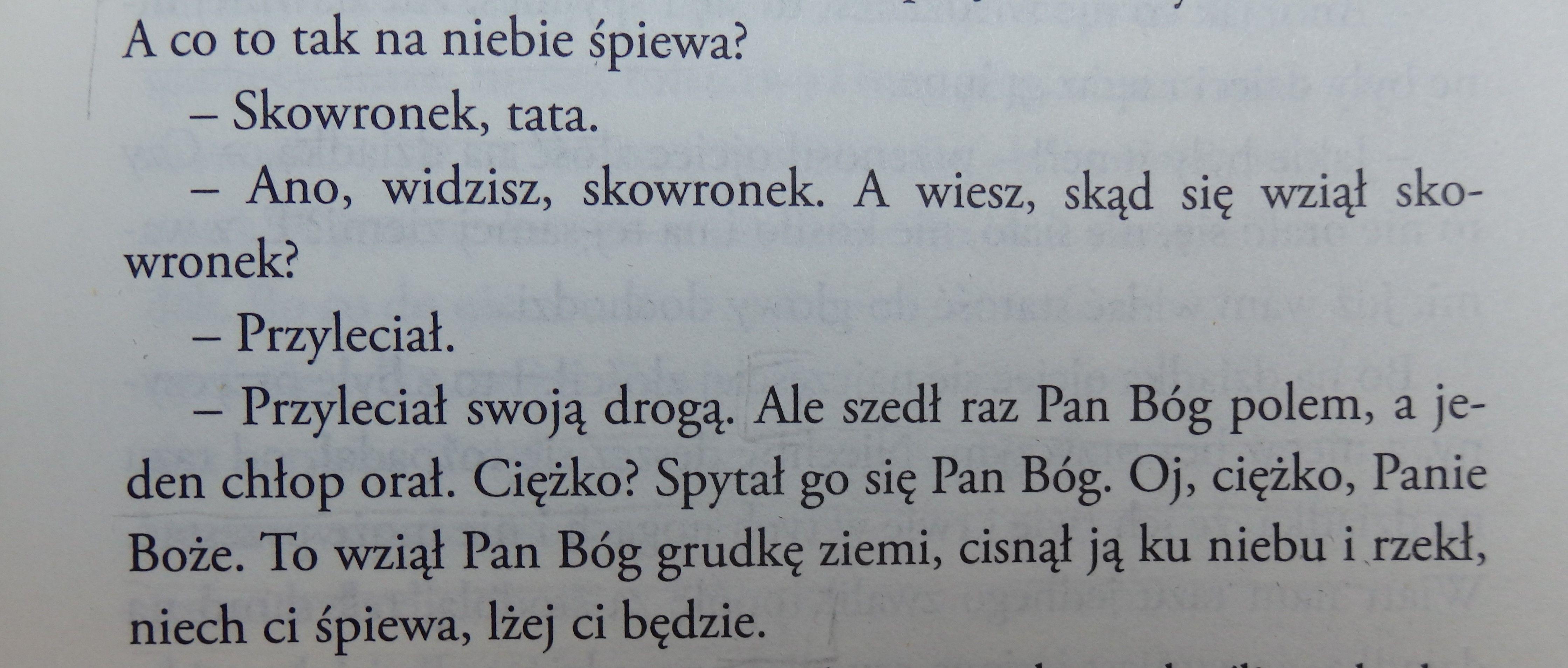Wieslaw Mysliwski Kamien Na Kamieniu Wiersze Pan Bóg I