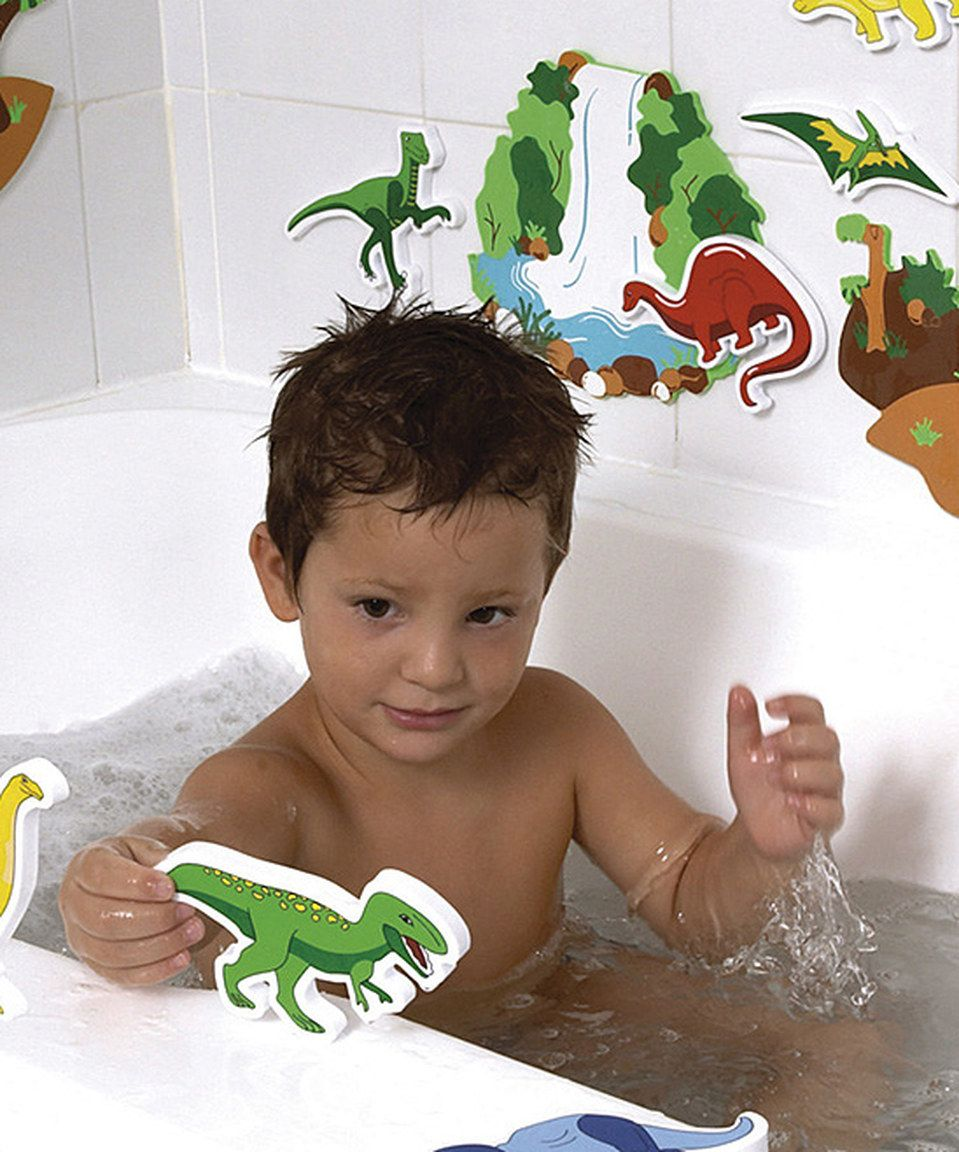 Love this Dinosaurs Magic Creations Bath Toy by Edushape on #zulily ...