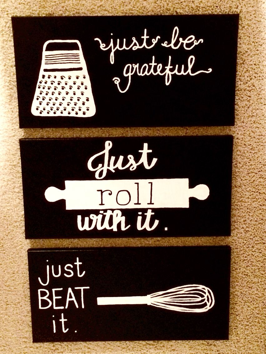 a very punny kitchen it will be kitchen paintings kitchen puns etc wall art quotes canvas on kitchen quotes id=25951