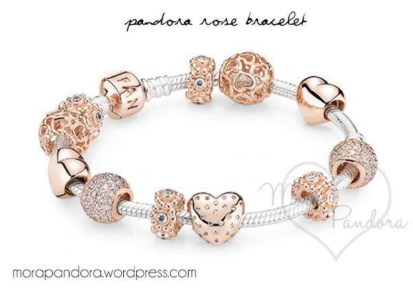armband pandora rosegold