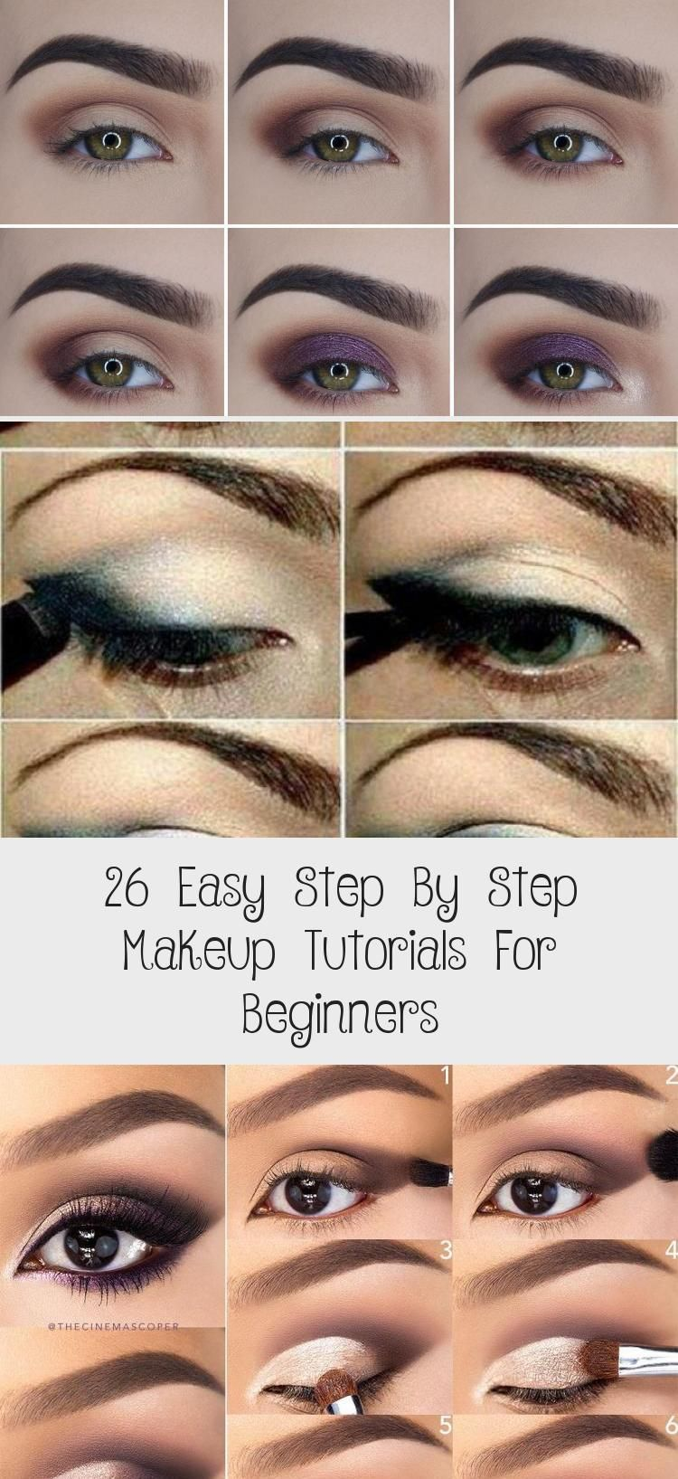 26 easy step by step makeup tutorials for beginners - makeup