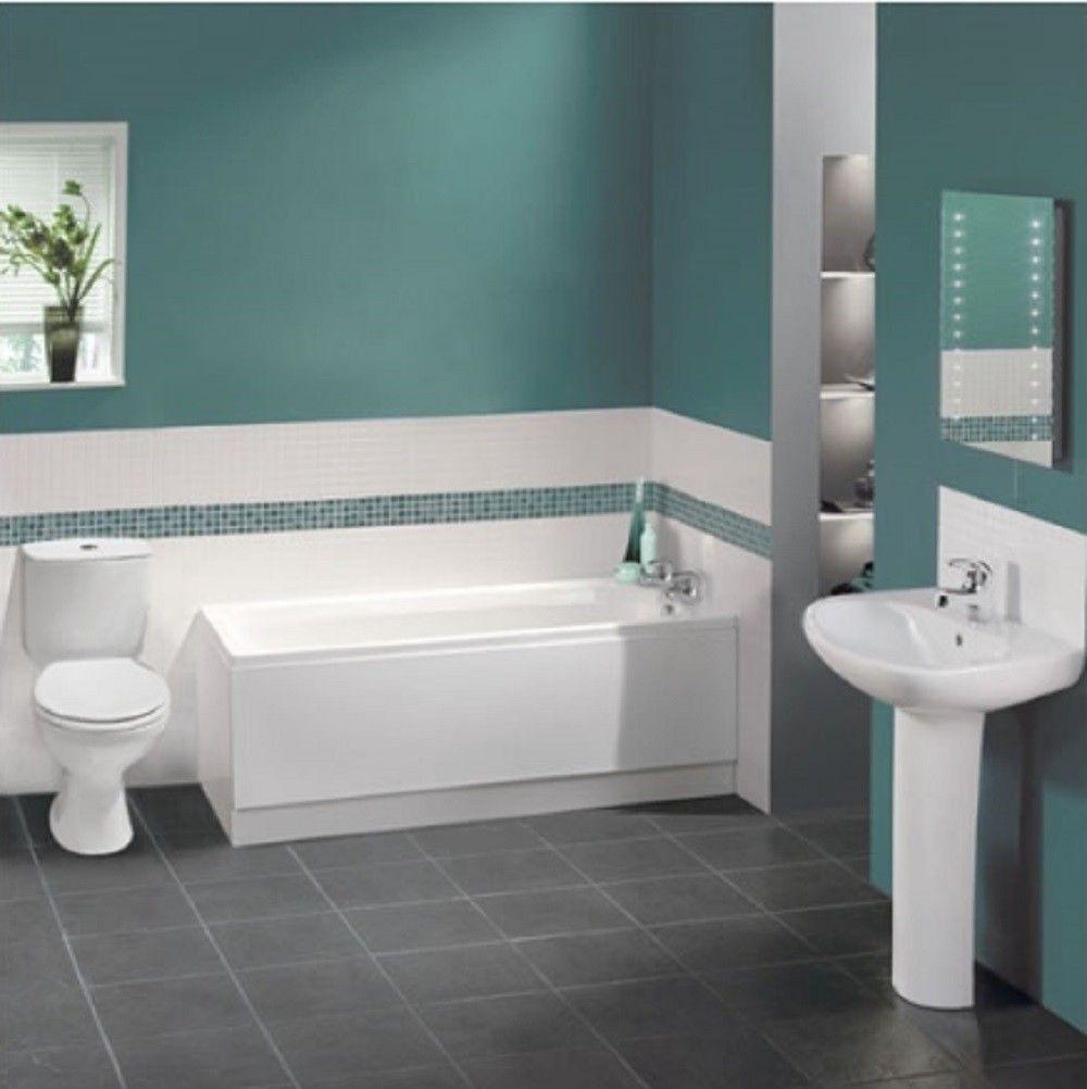 Melbourne 1200 5 Piece Bathroom Suite | Bathroom | Pinterest ...