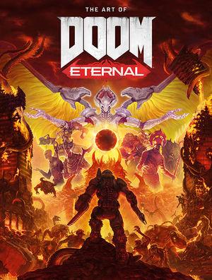 The Art Of Doom Eternal Hc Dark Horse Comics W B