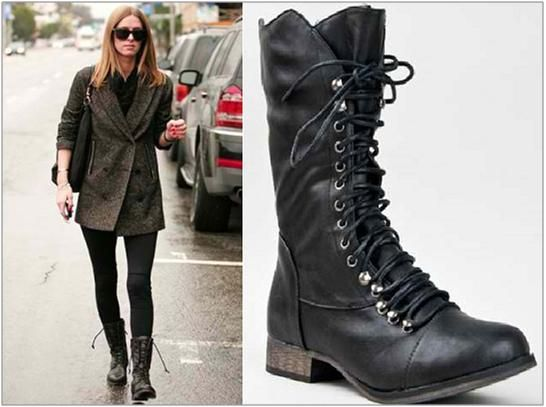 For women, Winter outfits and Cute combat boots on Pinterest