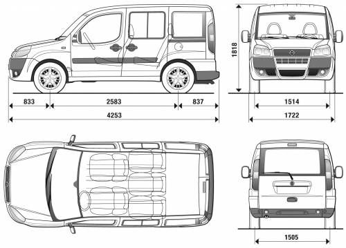 fiat doblo 2009 camping car pinterest fiat doblo. Black Bedroom Furniture Sets. Home Design Ideas