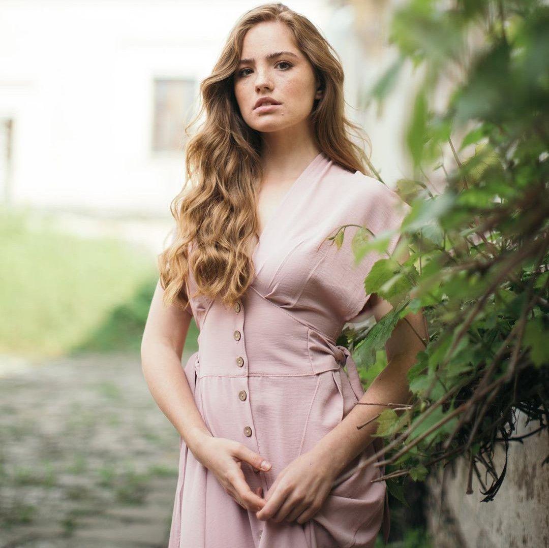 Pin By On Daria Sidorchuk Fashion Wrap Dress High Neck Dress [ 1079 x 1080 Pixel ]