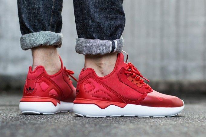 adidas tubular runner rosse