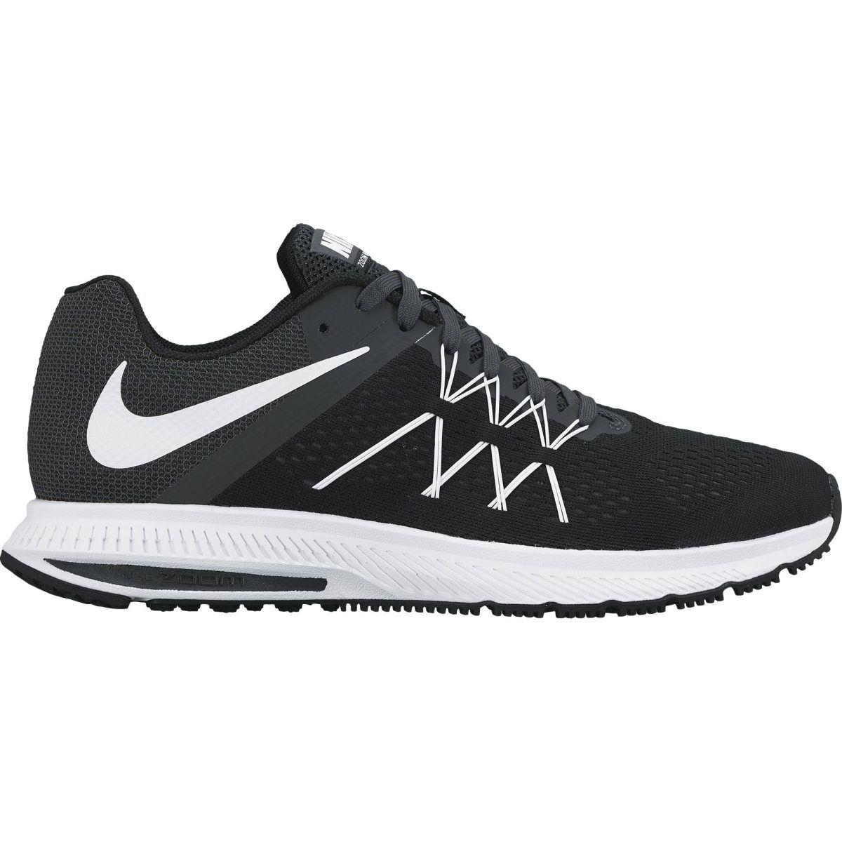 best sneakers 70145 b7ab2 ... black and white green ba886 61aa8  cheapest læs mere nike zoom winflo 3  løbesko herre. du kan trygt handle hos os