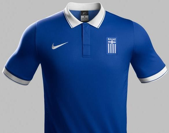 separation shoes 77172 7119b Greece World Cup Home Kit 2014- Nike | Sport Shirts | World ...