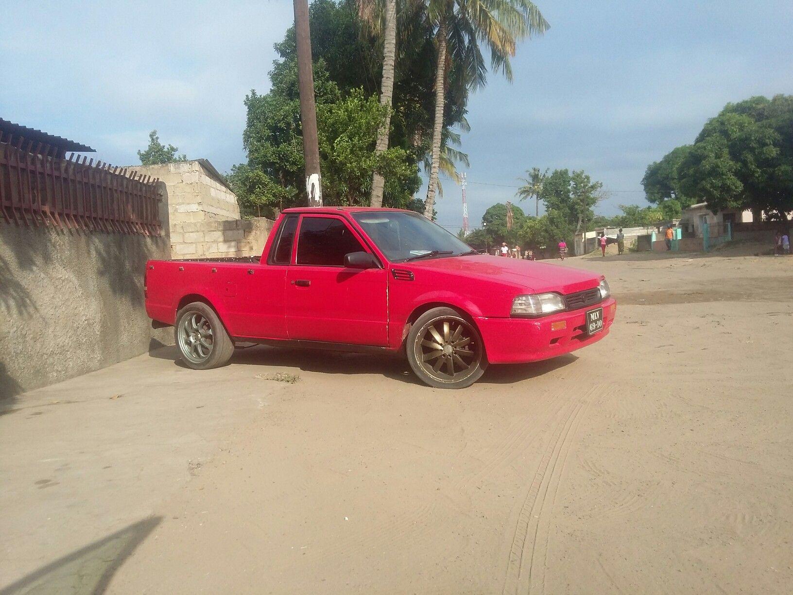 Ford Bantam B6 1 6i Madodas 17 Rims Red Custom Bakkie Mozweon
