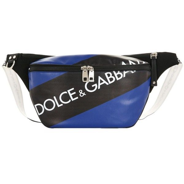 2ee78b56f0 Dolce   Gabbana Logo Waist Pouch ( 625) ❤ liked on Polyvore featuring bags