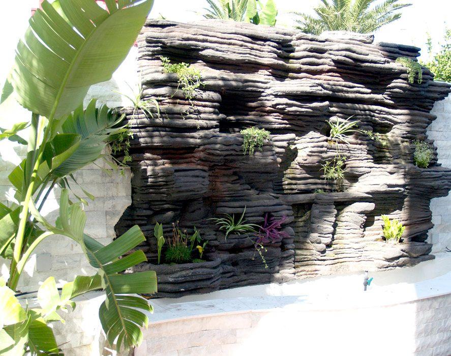 Jardines verticales huertos y fuentes zen jardines for Jardines con fuentes