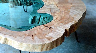 Pond table by Greg Klassen Furniture Maker