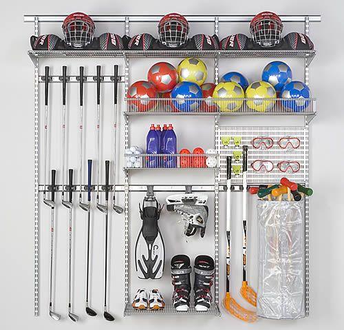 Extraordinary Sports Equipment Storage