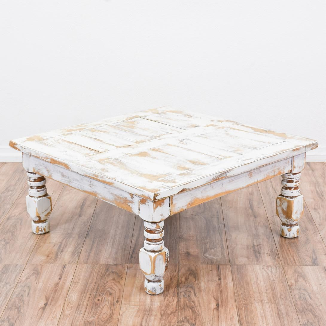 White Shabby Chic Square Coffee Table Coffee Table Shabby Chic Coffee Table Coffee Table Square