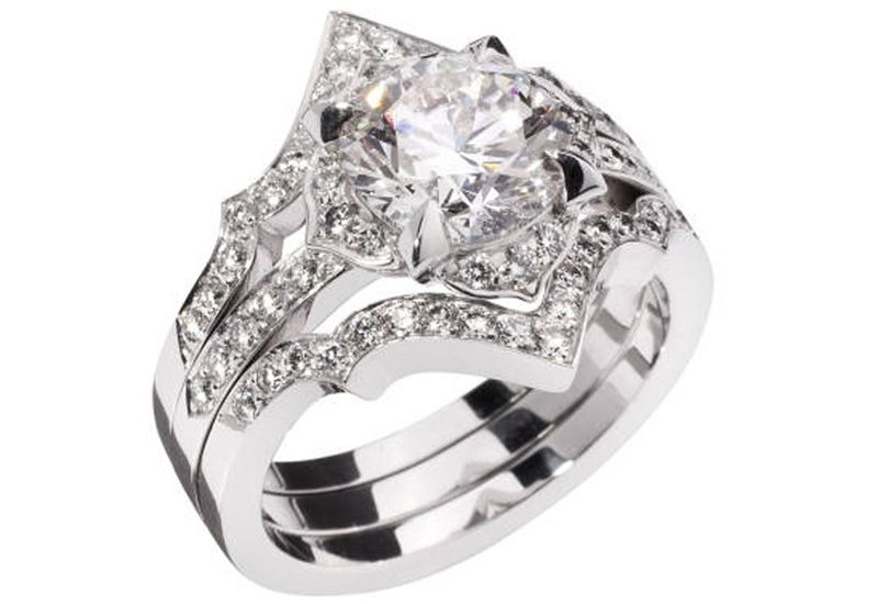 Stephen Webster Engagement And Wedding Ring Set Featuring Forevermark Diamonds