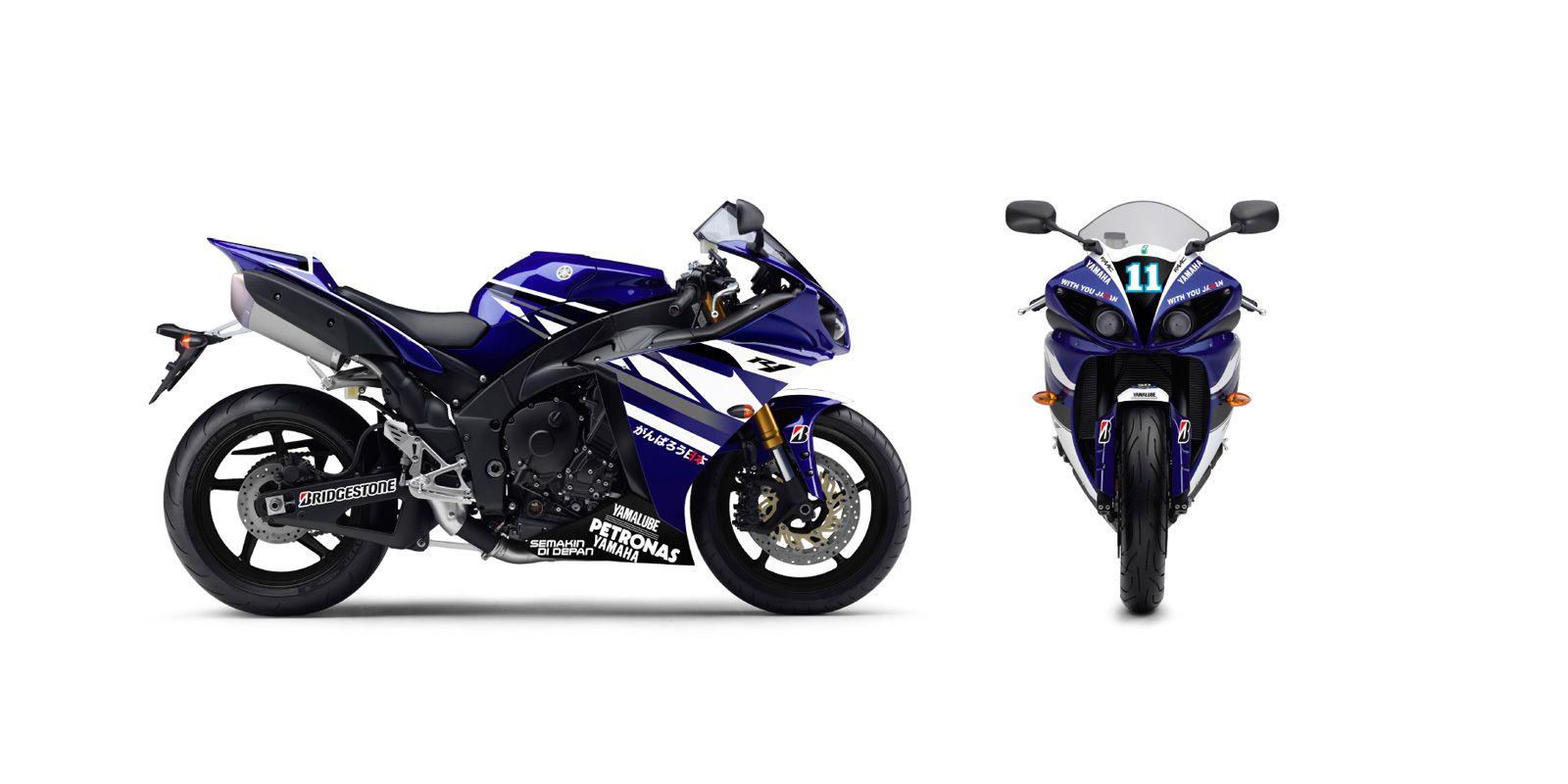 Racing Cafè: Yamaha YZF-R1 MotoGP Replica 2011