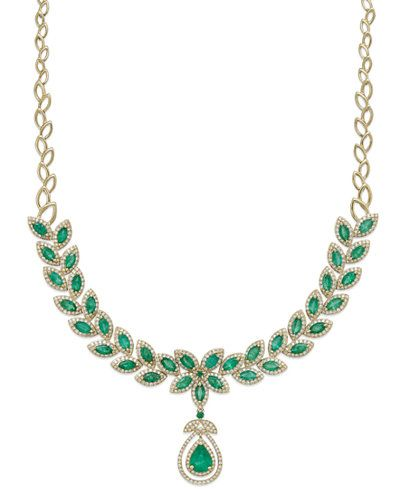 37+ Macys jewelry emerald necklaces viral