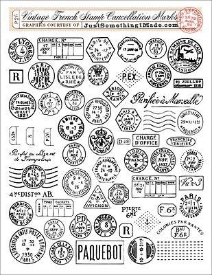 inspiración hecha a mano: Estampados de sellos imprimibles #printables #stamps