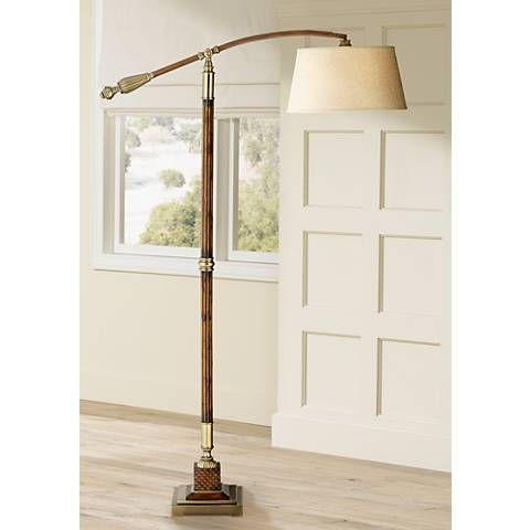 Uttermost Monroe Adjustable Downbridge Arc Floor Lamp 5m192