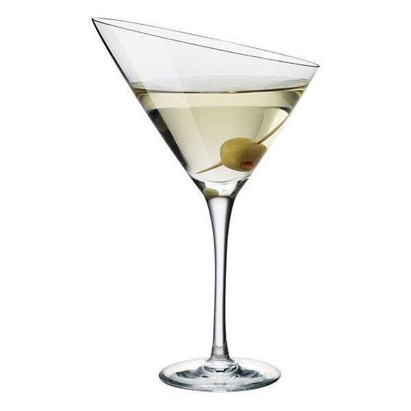 Martini ❤ liked on Polyvore featuring home, kitchen & dining, drinkware, fillers and glass drinkware