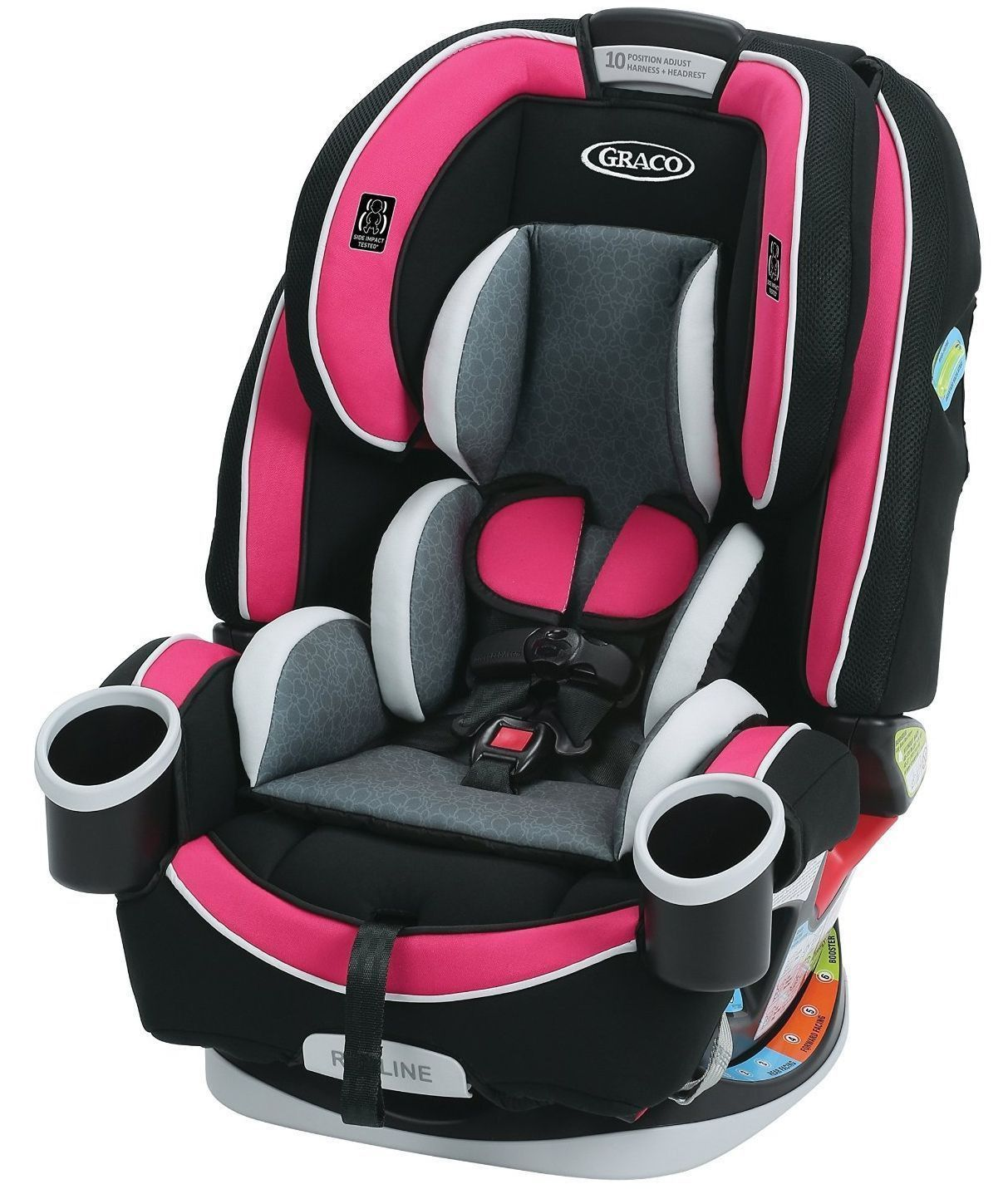 Graco Baby 4ever All In 1 Convertible Car Seat Infant Child Booster Azalea