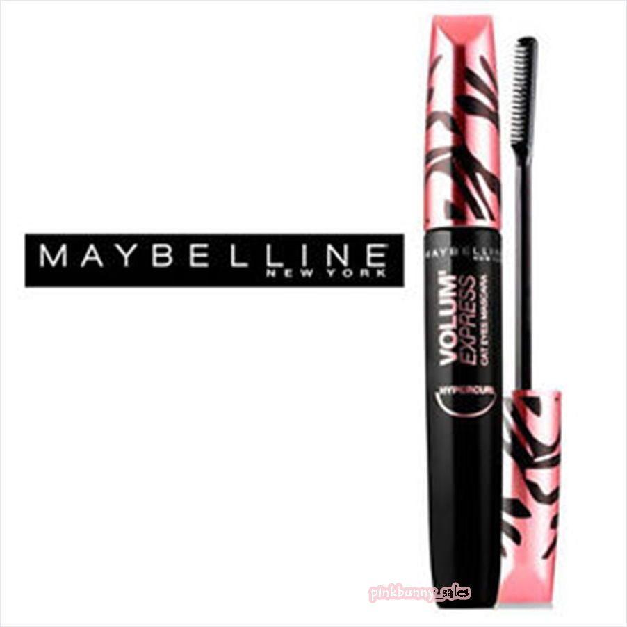 New Maybelline Volume Express Hypercurl Mascara Cat Eyes Lashes Comb Hyper Curl Black Maybellinenewyork